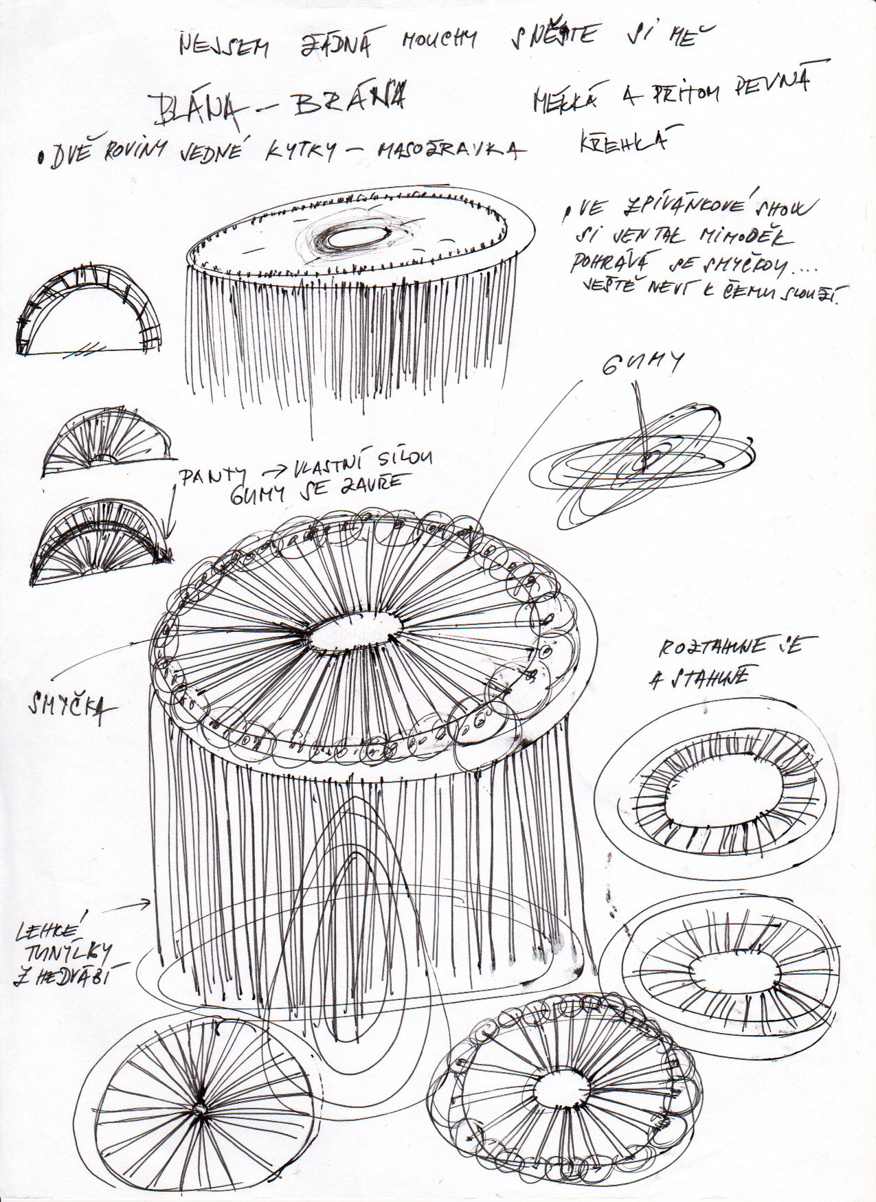 Skica objektu/Sketch of Object